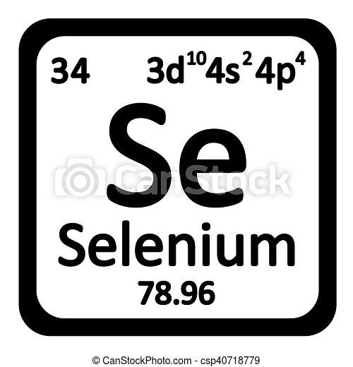 Tabla icon peridico selenio elemento vector illustration tabla icon peridico selenio elemento csp40718779 urtaz Choice Image