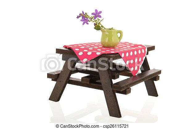 Mesa de picnic - csp26115721