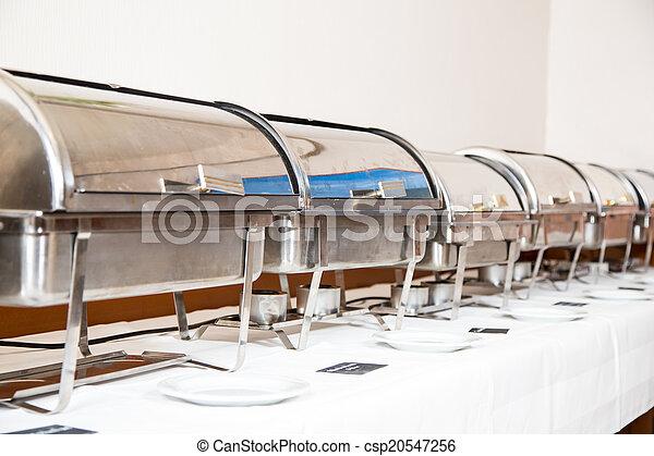 Mesa preparada por servicio de catering - csp20547256