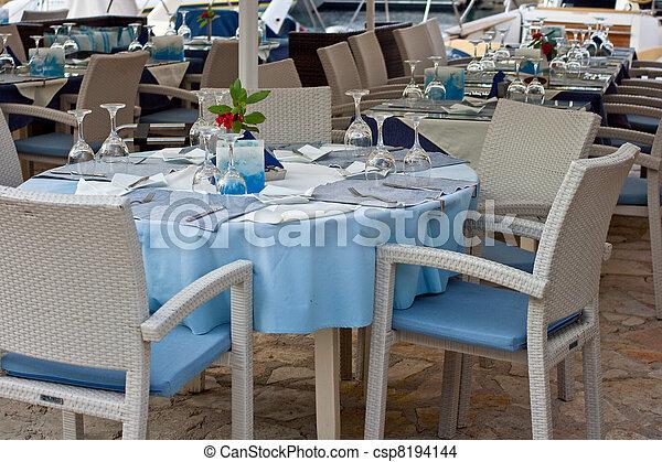 tabla, restaurante - csp8194144