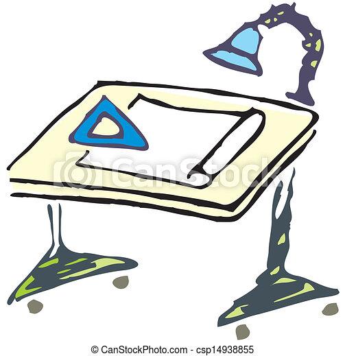 Dibujando el vector de mesa - csp14938855