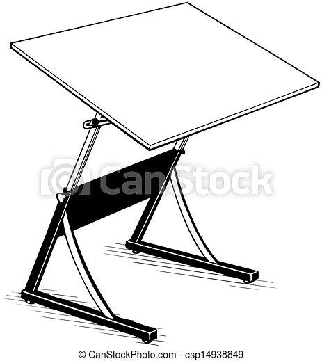 Dibujando el vector de mesa - csp14938849