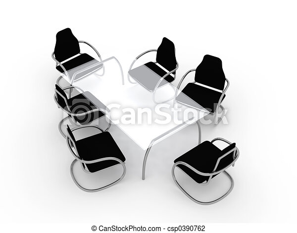 Table and Chairs 1 - csp0390762