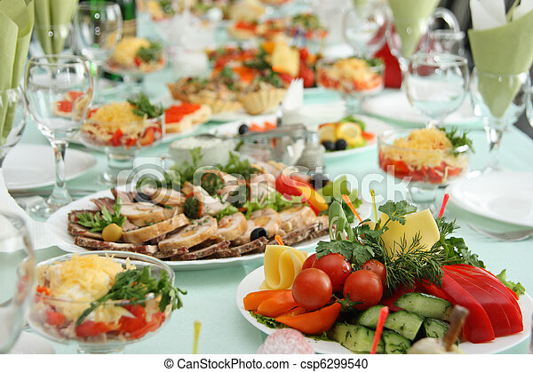Table at restaurant  - csp6299540