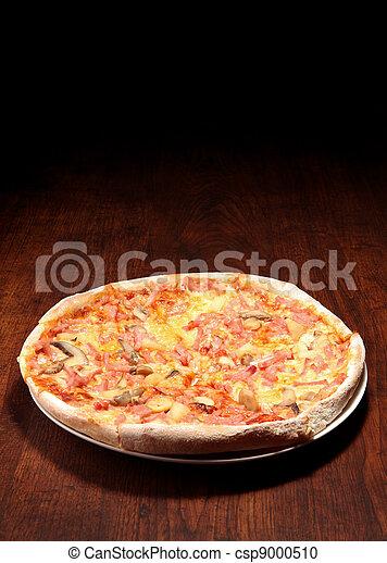 table bois, pizza - csp9000510