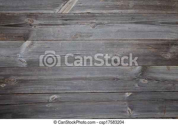 table bois, sommet, fond, vue - csp17583204
