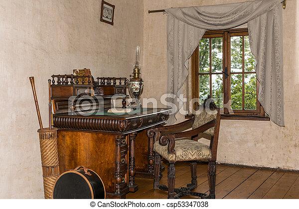 Table Chaise Moyen Ge Criture