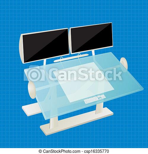 table, concepteur - csp16335770