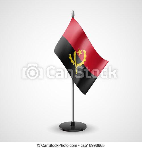 Table flag of Angola - csp18998665