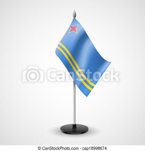 Table flag of Aruba - csp18998674