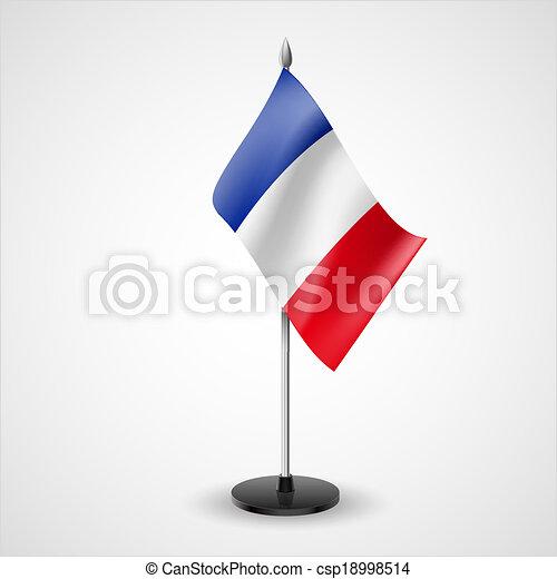 Table Flag Of France State Table Flag Of France National Symbol