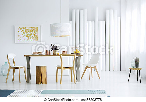 Table in dining room - csp56303778