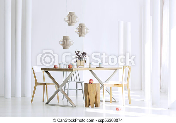 Table in dining room - csp56303874