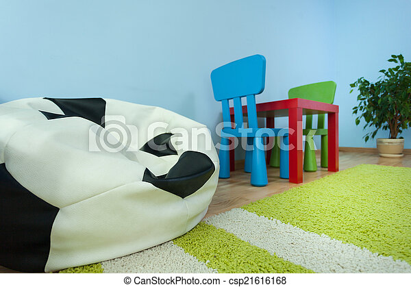 Table in kids room - csp21616168