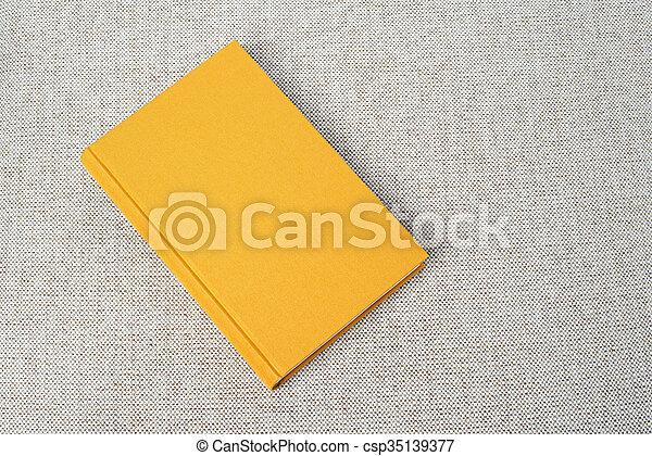 Table Livre Jaune Tissu Materiel Gris Jaune Livre Fond