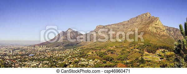 Table Mountain - csp46960471