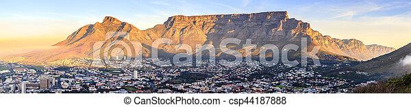 Table Mountain - csp44187888