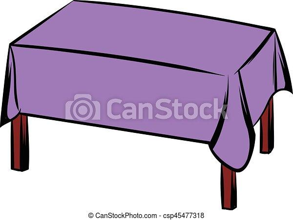 style isol illustration vecteur table nappe dessin clipart vectoris recherchez. Black Bedroom Furniture Sets. Home Design Ideas