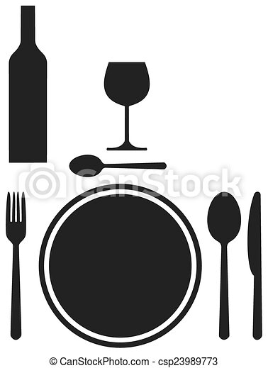 table ombre couvert illustration vecteurs rechercher des clipart des dessins et des images. Black Bedroom Furniture Sets. Home Design Ideas