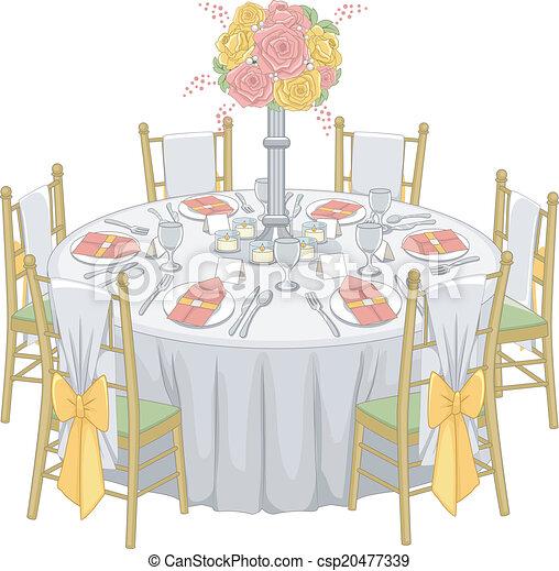 table r ception formel montage illustration r ception table salle formel. Black Bedroom Furniture Sets. Home Design Ideas