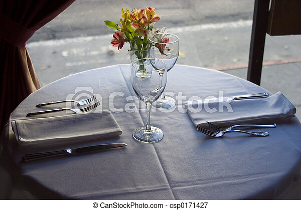 Table Setting 4 - csp0171427 & Table setting 4. A nice semi-formal table setting. picture - Search ...
