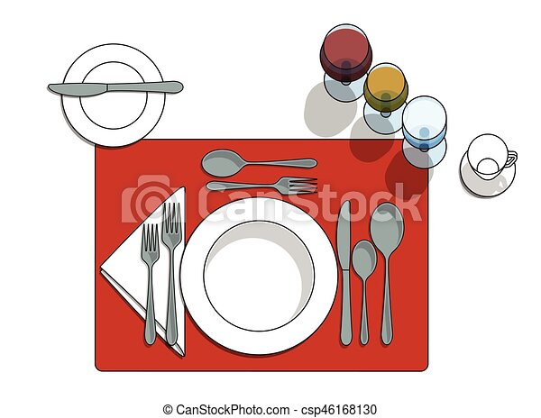 Table setting - csp46168130