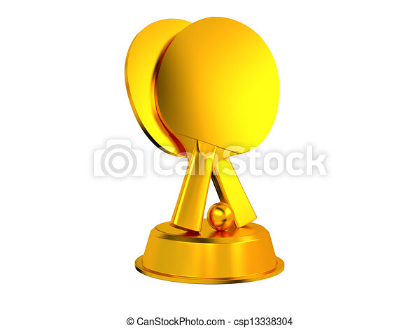 Table Tennis Trophy - csp13338304