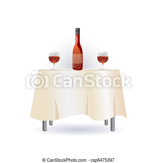 table, vin - csp6475397