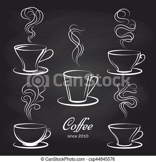 Tasses A Cafe Dessin