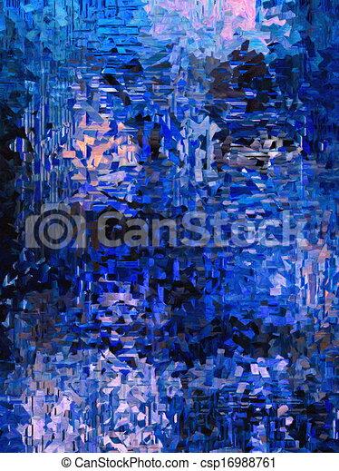 tableauabstrait, coloré, fond - csp16988761