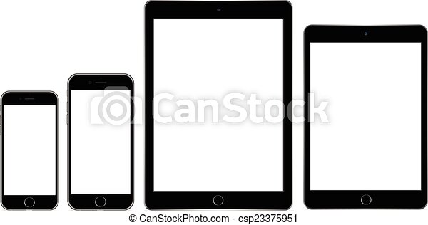 tablet and mobile phone - csp23375951