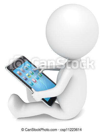 Tablet Computer. - csp11223614