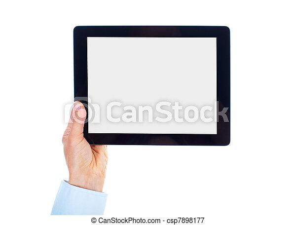 Tablet computer. - csp7898177