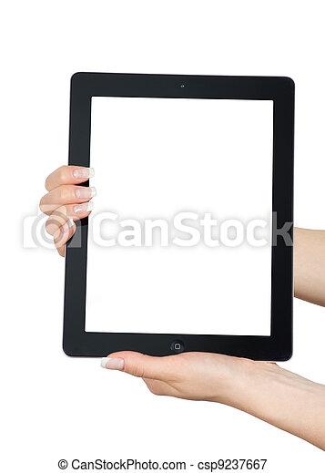 tablet computer  - csp9237667