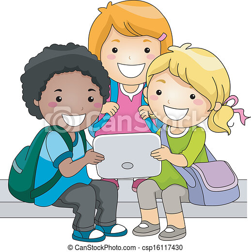 Tablet Kids - csp16117430