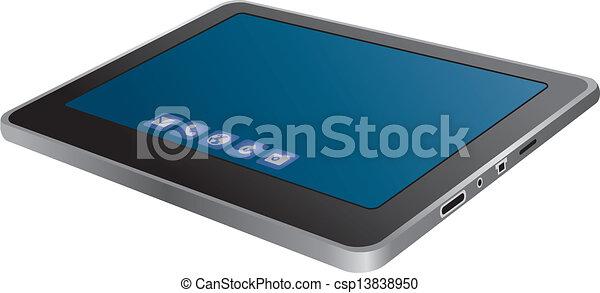 Tablet PC - csp13838950