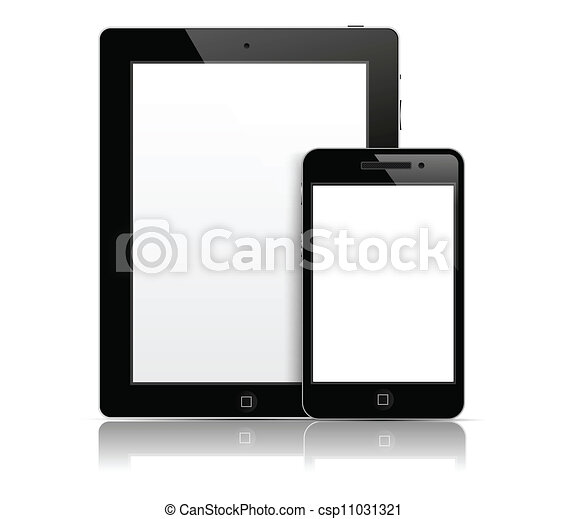 Tablet pc with phone - csp11031321