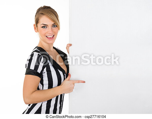 tablica ogłoszeń, sędzia, samica - csp27716104