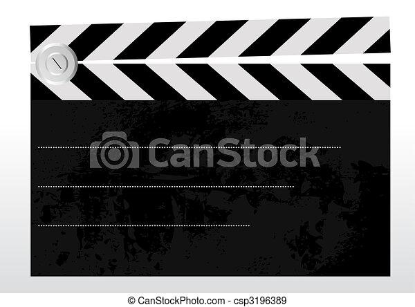 Clapboard - csp3196389