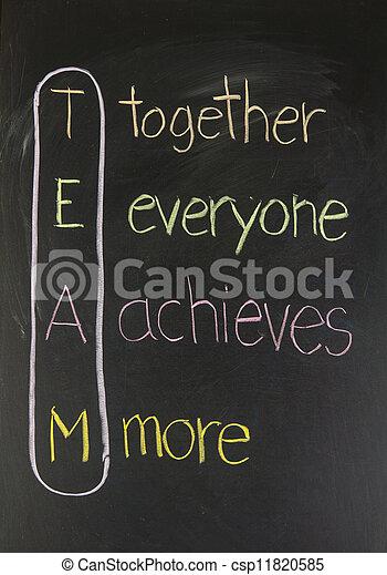 tabule, pojem, kolektivní práce - csp11820585