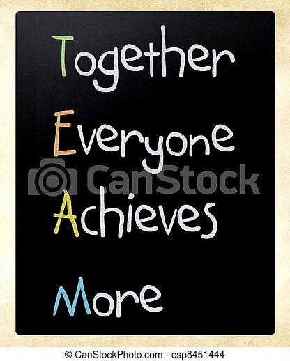 tabule, pojem, kolektivní práce - csp8451444