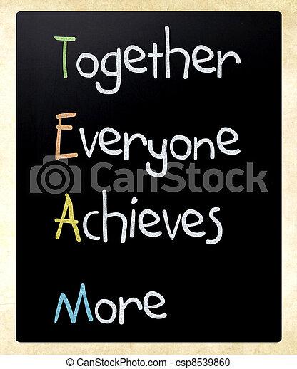 tabule, pojem, kolektivní práce - csp8539860