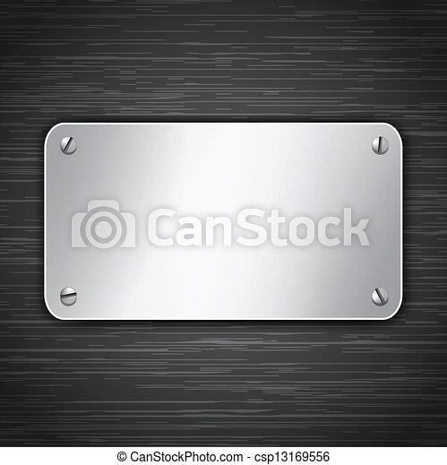 tabuleta, metálico - csp13169556