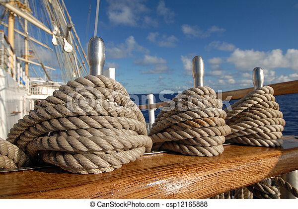 Tackle sailing ship - csp12165888