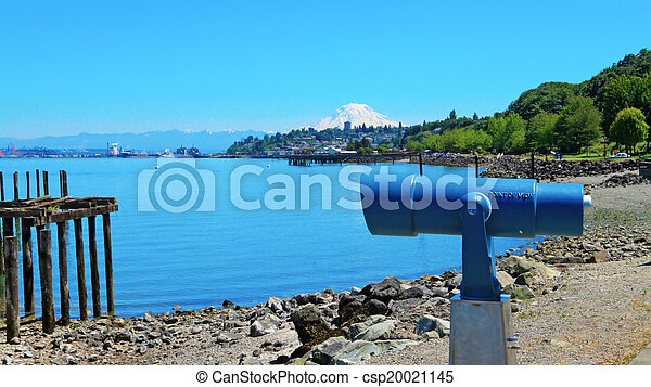 Tacoma during summer time - csp20021145