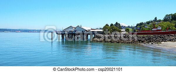 Tacoma, summer time. WA - csp20021101
