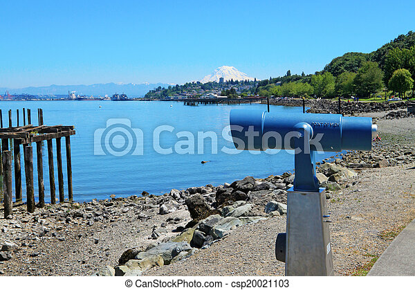 Tacoma, summer time. WA - csp20021103