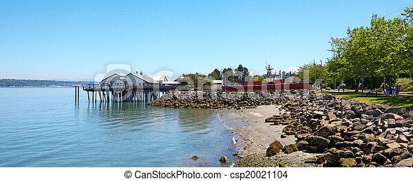 Tacoma, summer time. WA - csp20021104