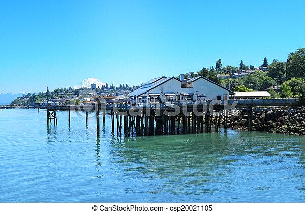 Tacoma, summer time. WA - csp20021105