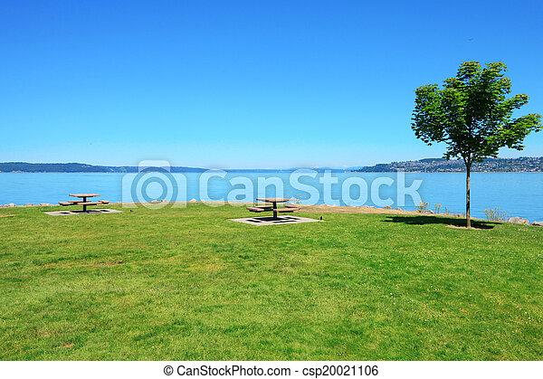 Tacoma, summer time. WA - csp20021106
